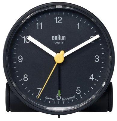 Braun BNC001 zwart 7 cm wekker