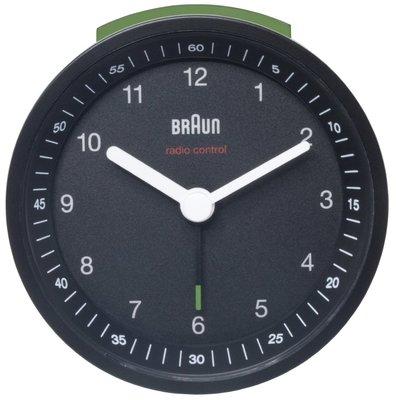 Braun BNC007 zwart 8 cm radiogestuurde wekker