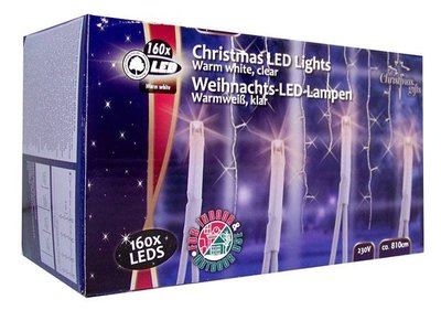 Christmas Gifts Icicle 160 LED's outdoor kerstverlichting