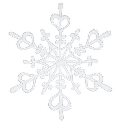 Koziol Flake L wit kerstdecoratie - 2 stuks