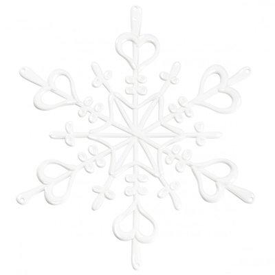 Koziol Flake XS wit kerstdecoratie - 4 stuks