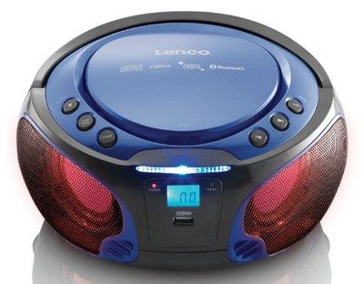 Lenco SCD-550 blauw draagbare radio