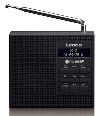 Lenco PDR-020 zwart DAB+ radio