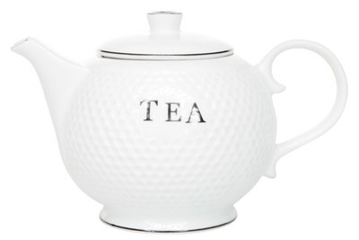 Cosy Golf White theepot 0.7 liter