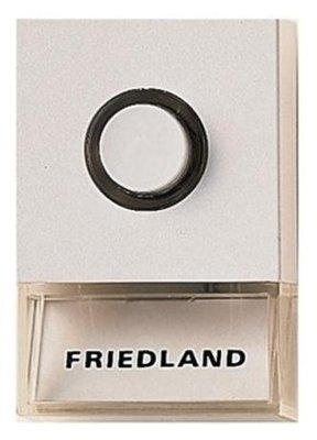 Friedland Pushlite wit deurdrukker