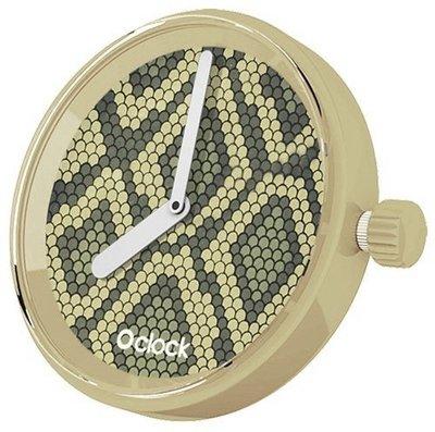 O clock klokje Safari Snake