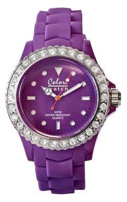 Colori Watch Crystal Purple
