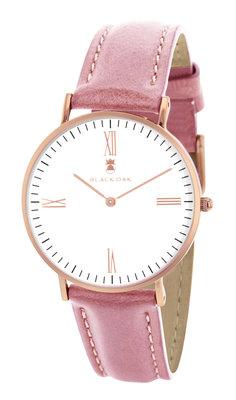 Black Oak Martinez pink 36 mm horloge