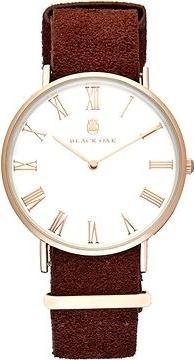 Black Oak Havard II chocolate 40 mm horloge