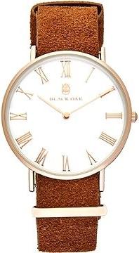 Black Oak Havard II tan 40 mm horloge