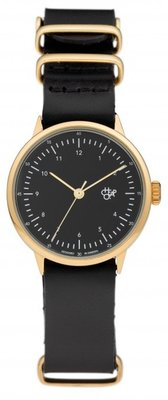 CHPO Harold Mini Gold black horloge