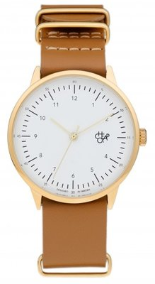 CHPO Harold Gold brown horloge
