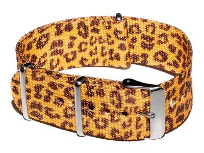 Cheapo Leopard yellow horlogeband