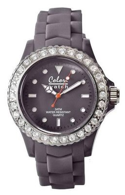 Colori Watch Crystal Grey