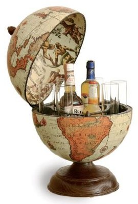 Classica Alfeo Safari Desk barglobe