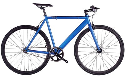 6KU Track Navy 55 cm fixed gear bike