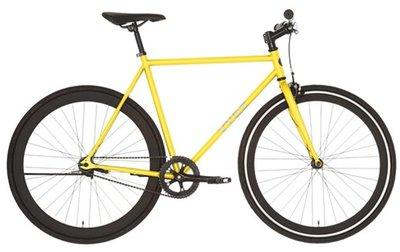 Vydz Smacking Yellow single speed bike 56 cm