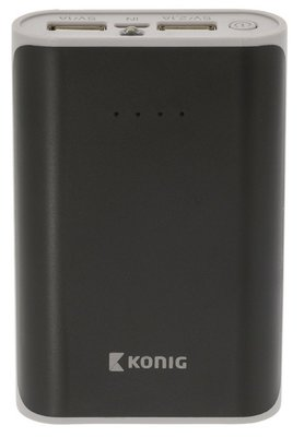 König KNPB7500BL 7500 mAh powerbank