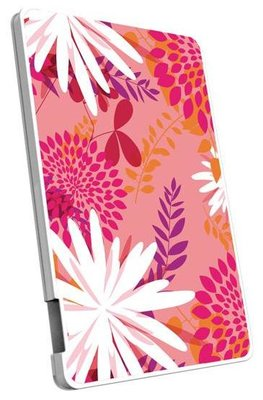 Emtec 2500 mAh powerbank flower