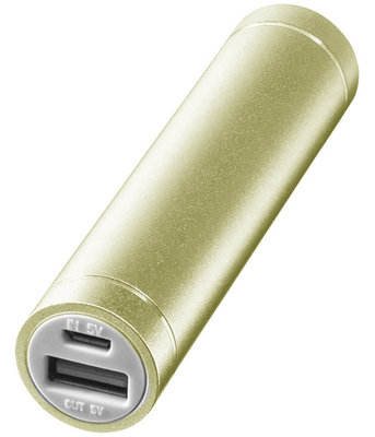 Dynamic Energy 2200 mAh powerbank goud