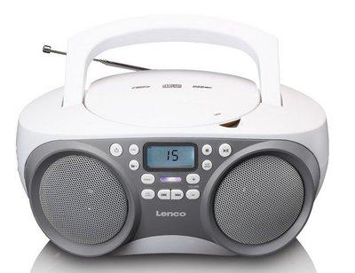 Lenco SCD-301GY draagbare radio