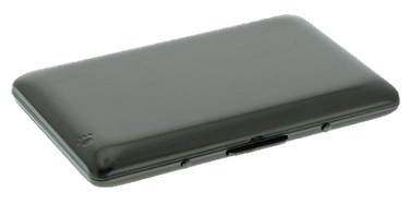 Smartcaze Firebird Gunmetal creditcardhouder