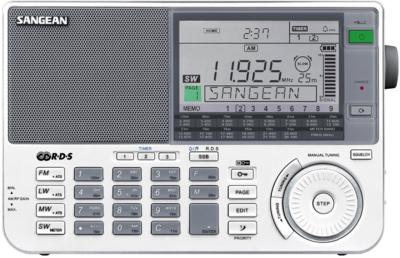 Retourkansje   Sangean ATS-909X wit wereldontvanger
