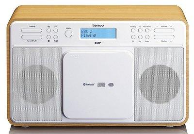 Lenco DAR-040 oak DAB+ radio