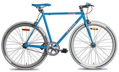 Troy Speed blue 54 cm fixed gear bike