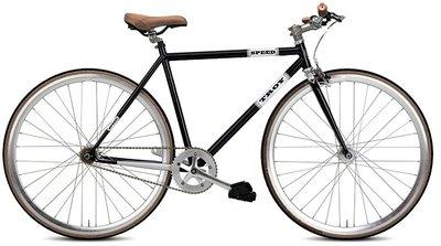 Troy Speed black 54 cm fixed gear bike