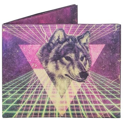 Mighty Wallet Space Wolf