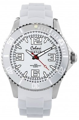 Colori Watch Cool Steel White