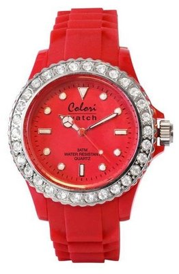 Colori Watch Crystal Red