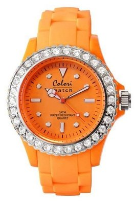Colori Watch Crystal Orange