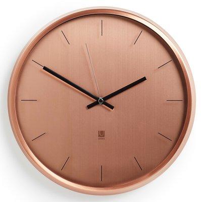 Umbra Meta copper 32 cm klok