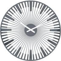 Koziol Piano grey 45 cm klok
