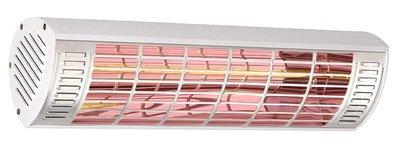 CasaTherm W2000 Gold LowGlare wit elektrische terrasverwarming