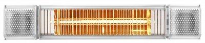 Eurom Heat and Beat wit elektrische terrasverwarming
