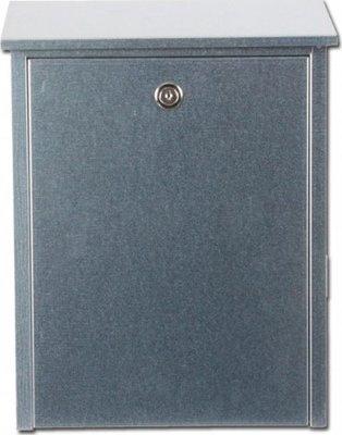 Allux 200 zilver brievenbus