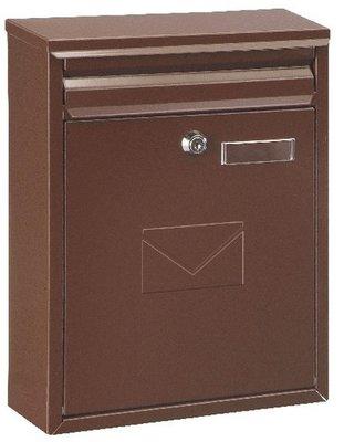 Rottner Tresor Como bruin brievenbus