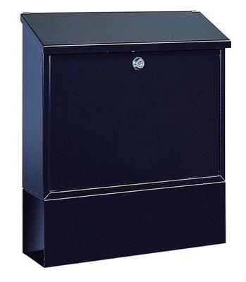 Rottner Tresor Villa-Set zwart brievenbus