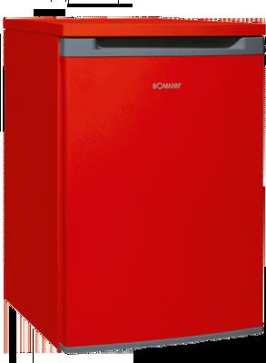 Bomann VS 354 rood A++ koelkast (130 liter)