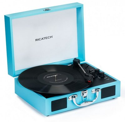 Ricatech RTT21 Advanced Turquoise platenspeler