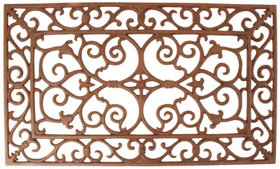 Esschert Design Gietijzeren deurmat Victoriaans rechthoekig