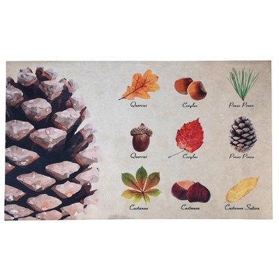 Esschert Design Herfstbomen deurmat