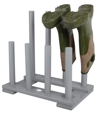 Esschert Design Laarzenrek robuust grijs