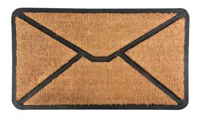 Esschert Design Enveloppe kokosmat met rubber