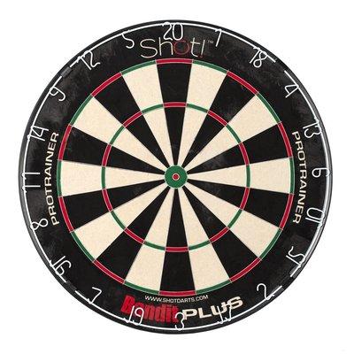 Shot! Bandit Plus Pro-Trainer sisal dartbord
