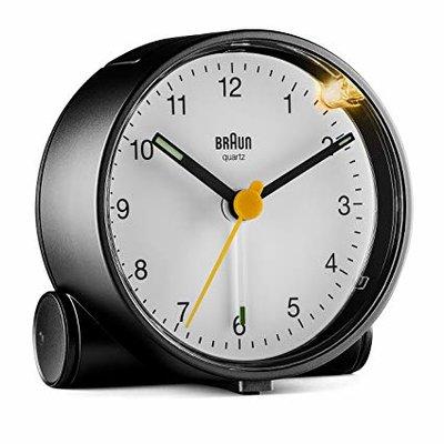 Braun BC01BW zwart/wit 7 cm wekker