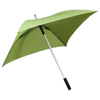 Falcone All Square vierkante paraplu groen